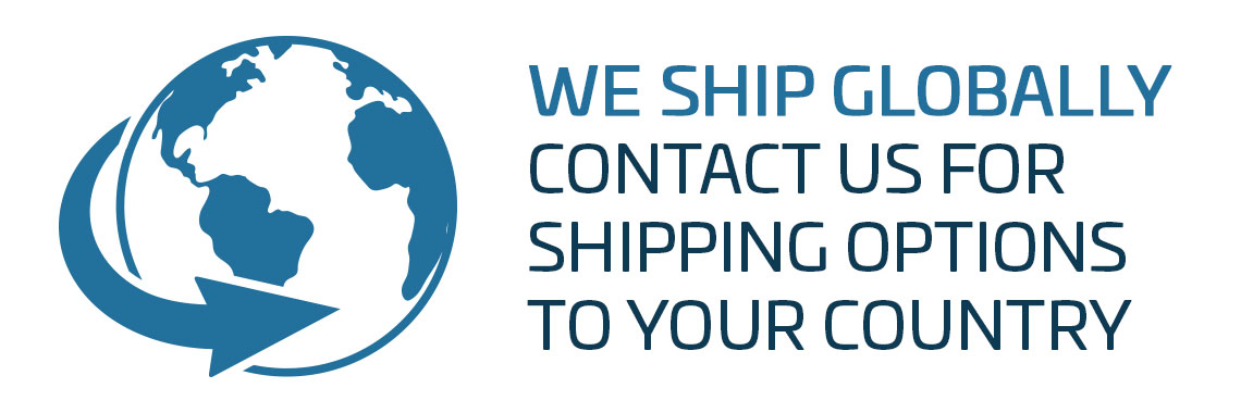 We Ship Globally